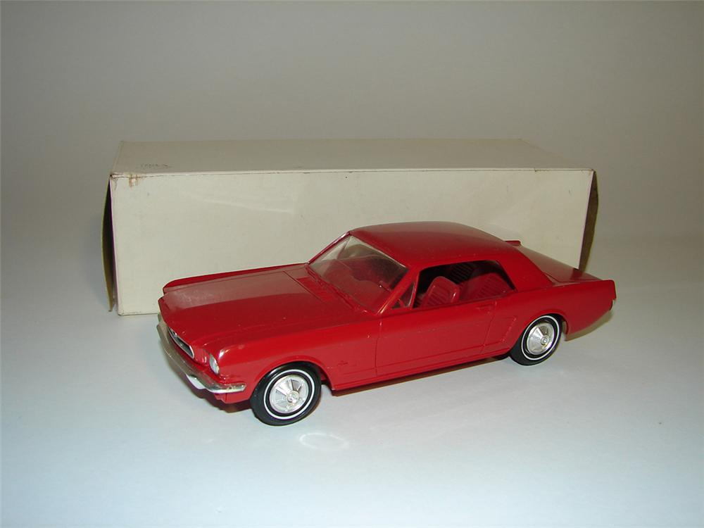 Neat N.O.S. 1965 Ford Mustang dealer promotional still in the box. - Front 3/4 - 101802