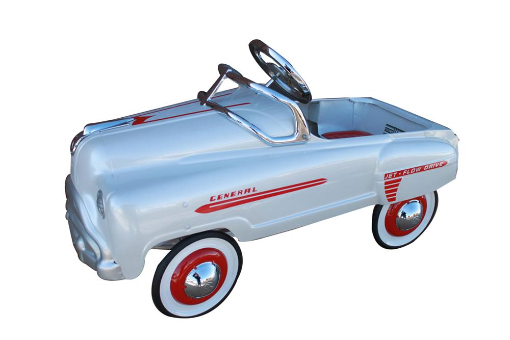 Neat 1950 Murray Sad face General pedal car. - Front 3/4 - 102218