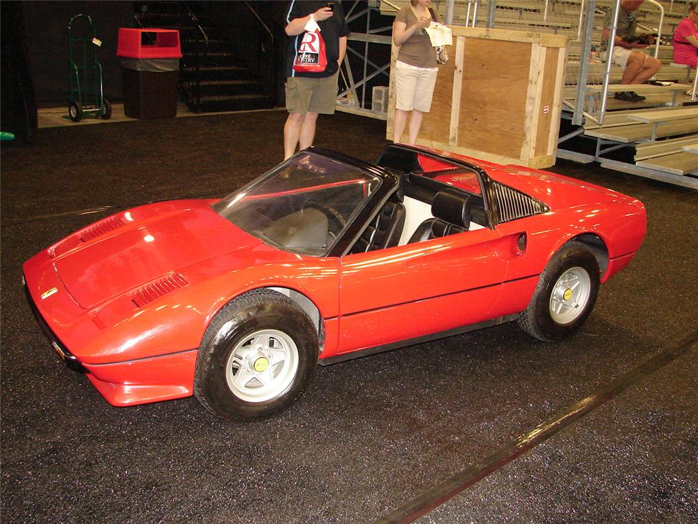 1985 ferrari 308 hand built agostini auto junior rare. Black Bedroom Furniture Sets. Home Design Ideas