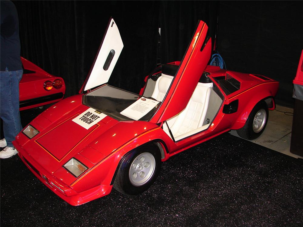 1985 lamborghini countach hand built agostini auto junior. Black Bedroom Furniture Sets. Home Design Ideas