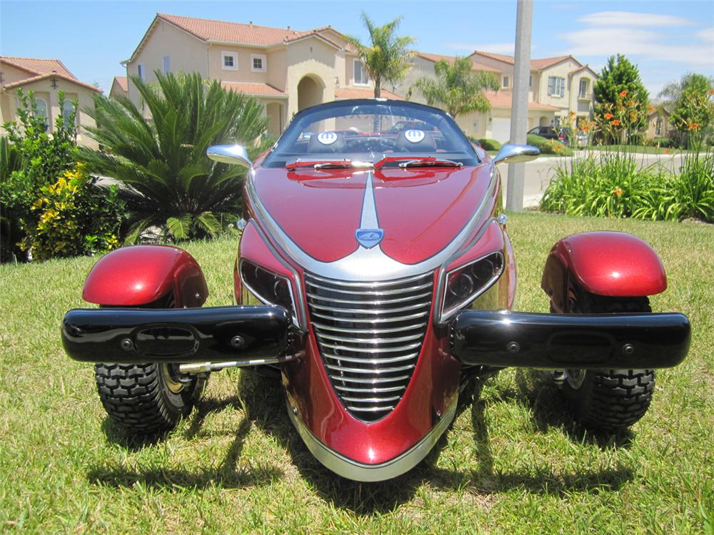 Fully restored Plymouth Prowler Go-Kart restored beyond original with many additional amenities. - Misc 2 - 108289