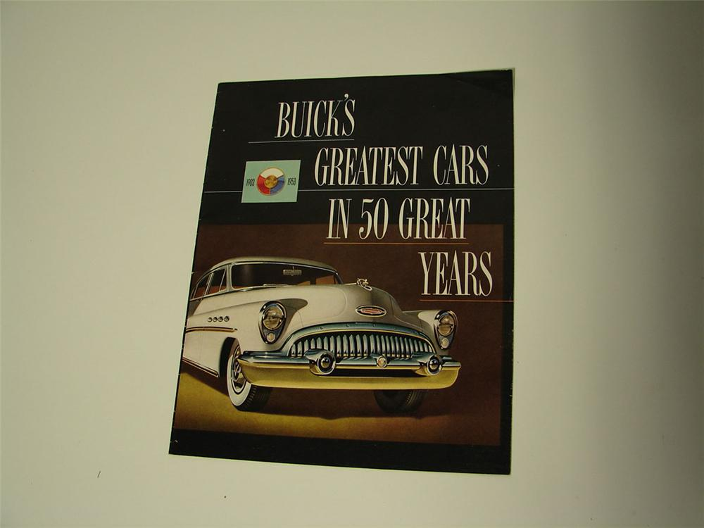 N.O.S. 1953 Buick Automobiles 20 page full color showroom sales brochure. - Front 3/4 - 108601