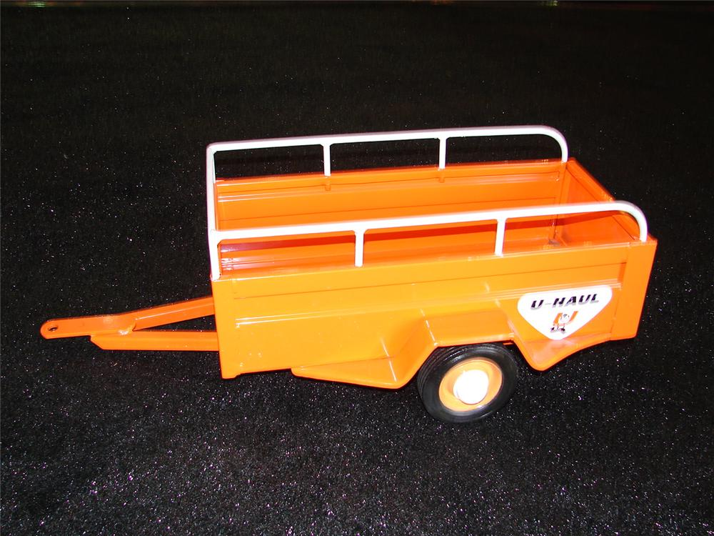 Hard to find 1950s U-Haul restored pedal car trailer.  Nicely restored to original. - Front 3/4 - 110294