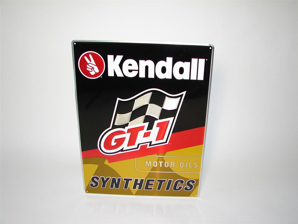 N o s kendall motor oil 39 gt 1 39 single sided embossed tin for Kendall motor oil distributors
