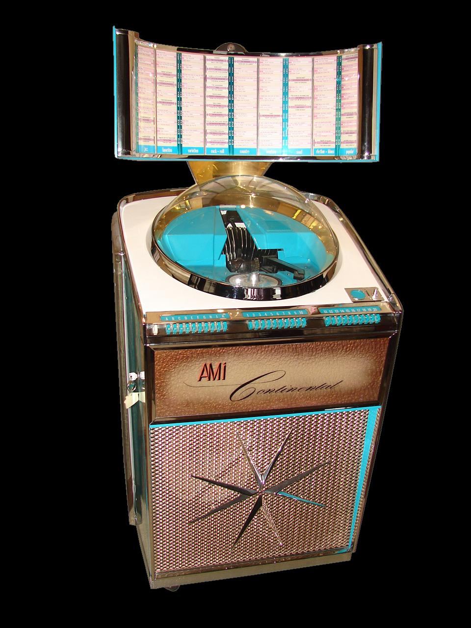 Stellar 1950s Ami Continental Jukebox Model Xjdb200 One Of