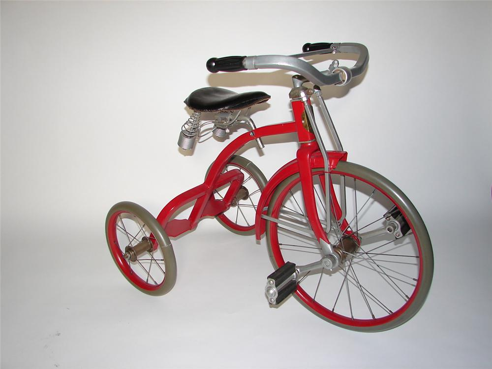 Amazing 1930s Skippy by Gendron all original childs tricycle. - Front 3/4 - 116606