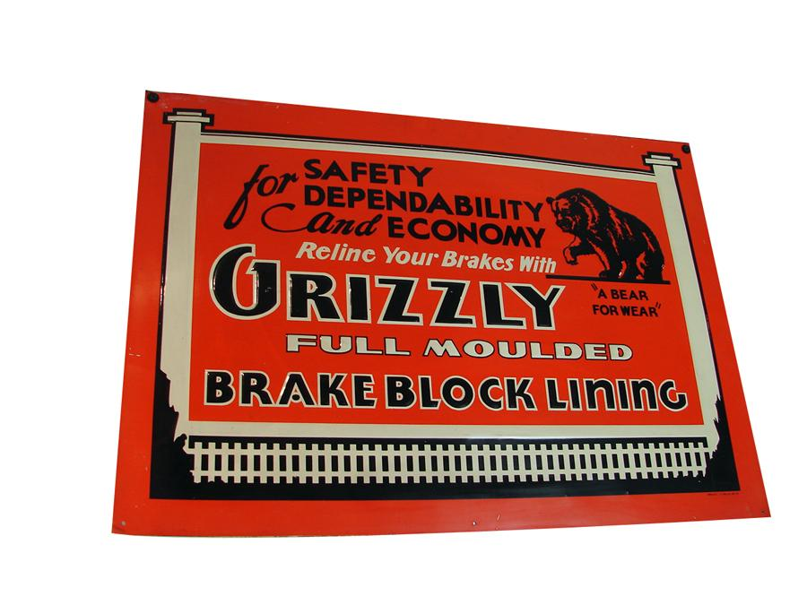 Grizzly Brake Lining : Interesting n o s grizzly brake block lining single