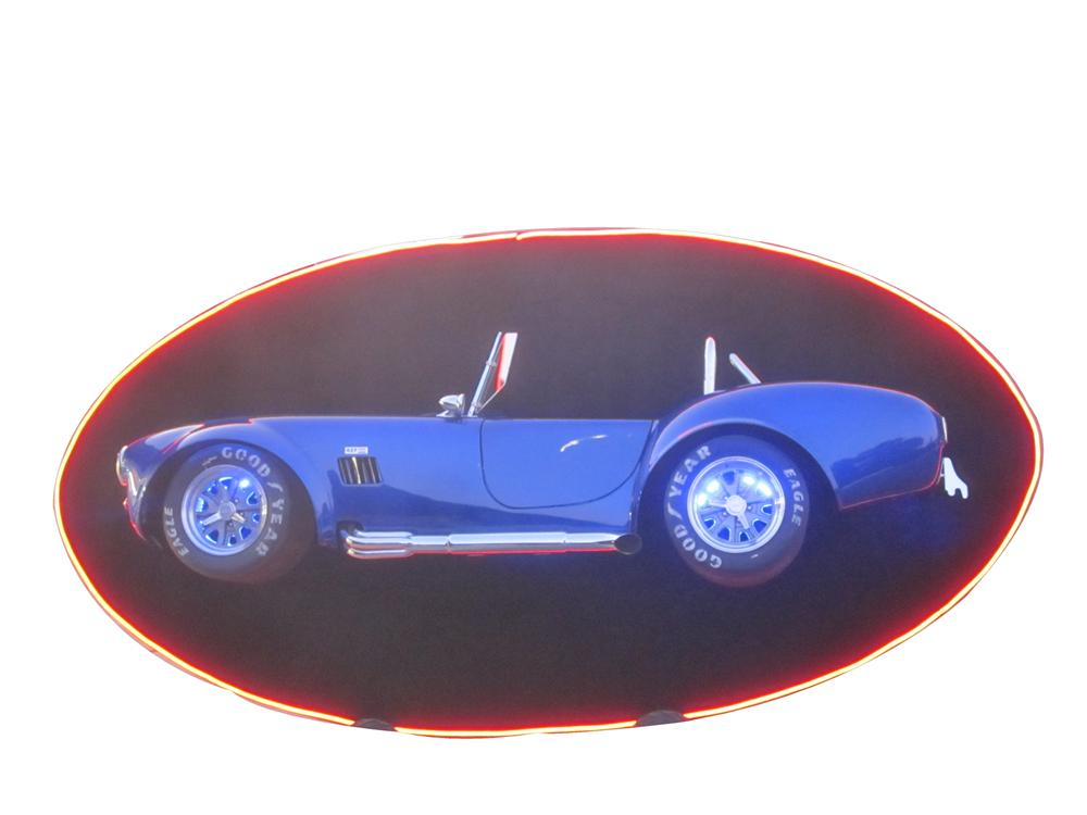 Unique Cobra Tribute wall art created by McLaren Classic Restorations. - Front 3/4 - 117018