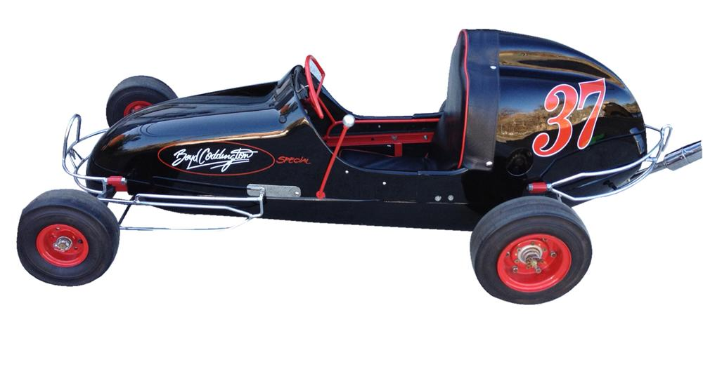 Truly one of a kind Boyd Coddington go-cart with rare 1951 Continental engine. - Front 3/4 - 117993