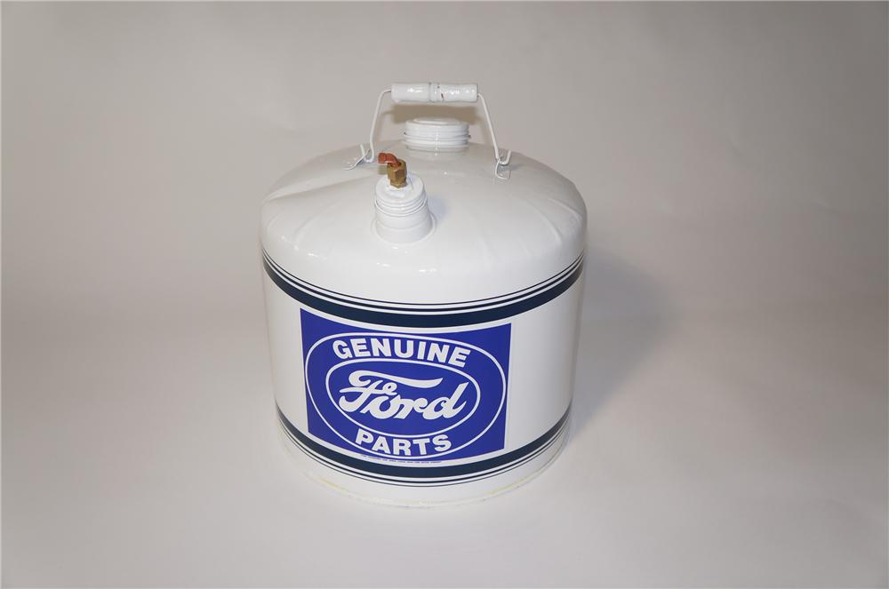 Large 1940s restored Ford service department gas can. - Front 3/4 - 125412