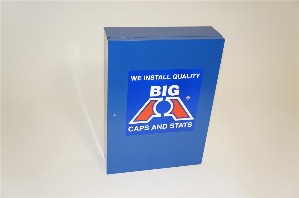 N.O.S. Big A Auto Parts service department display cabinet.  Found unused. - Front 3/4 - 125498