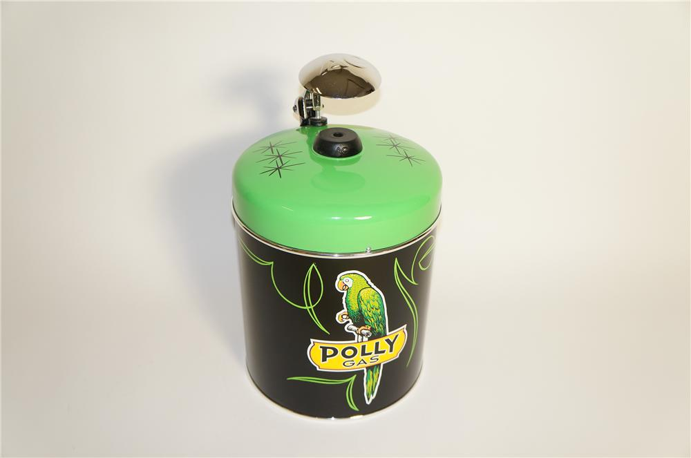 Exceptional 1940s Polly Oil AC Spark Plugs restored counter-top plug cleaner/servicer. - Front 3/4 - 125569