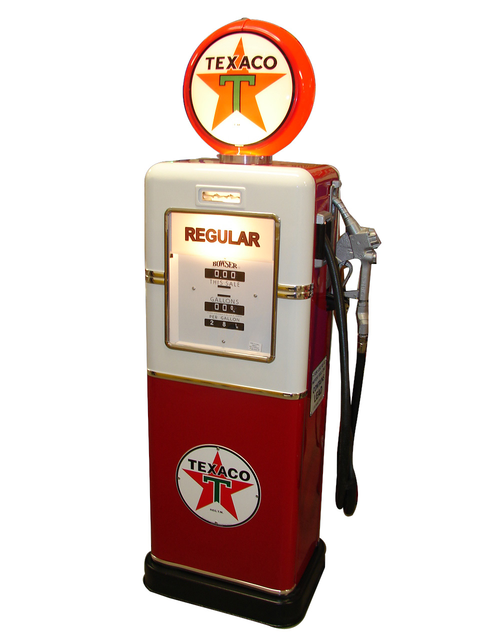 stupendous 1958 texaco oil bowser model 521 restored