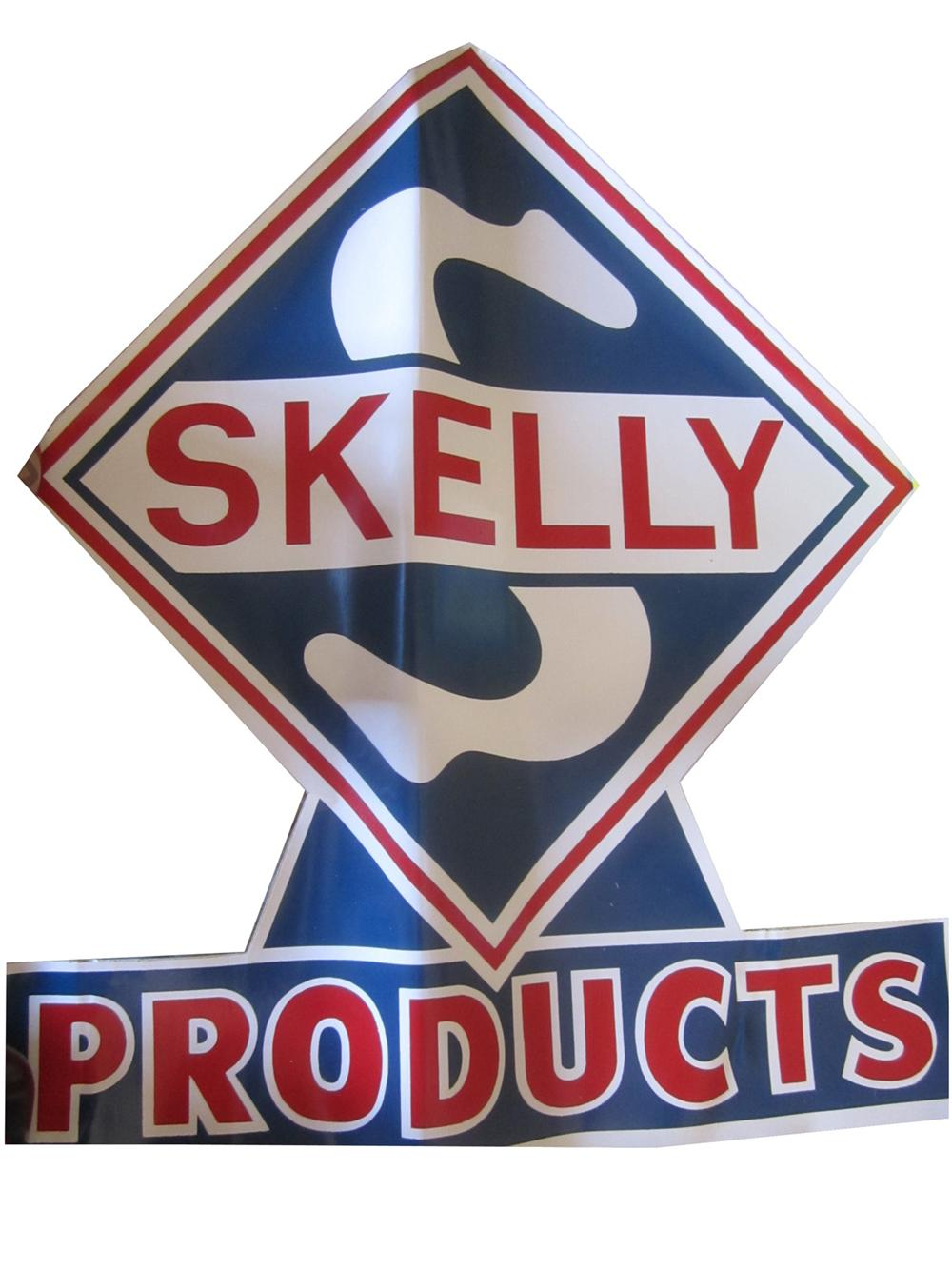 N.O.S. Skelly Oil Products decal in pristine condition. - Front 3/4 - 130812