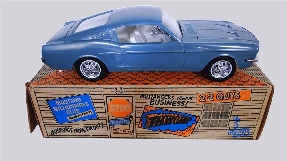 Outstanding 1967 Ford Mustang Fastback dealer promotional electric car still new in the box. - Front 3/4 - 130847