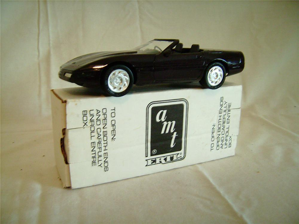 N.O.S. 1992 A.M.T. Corvette dealer promotional model still in the original box. - Front 3/4 - 130872