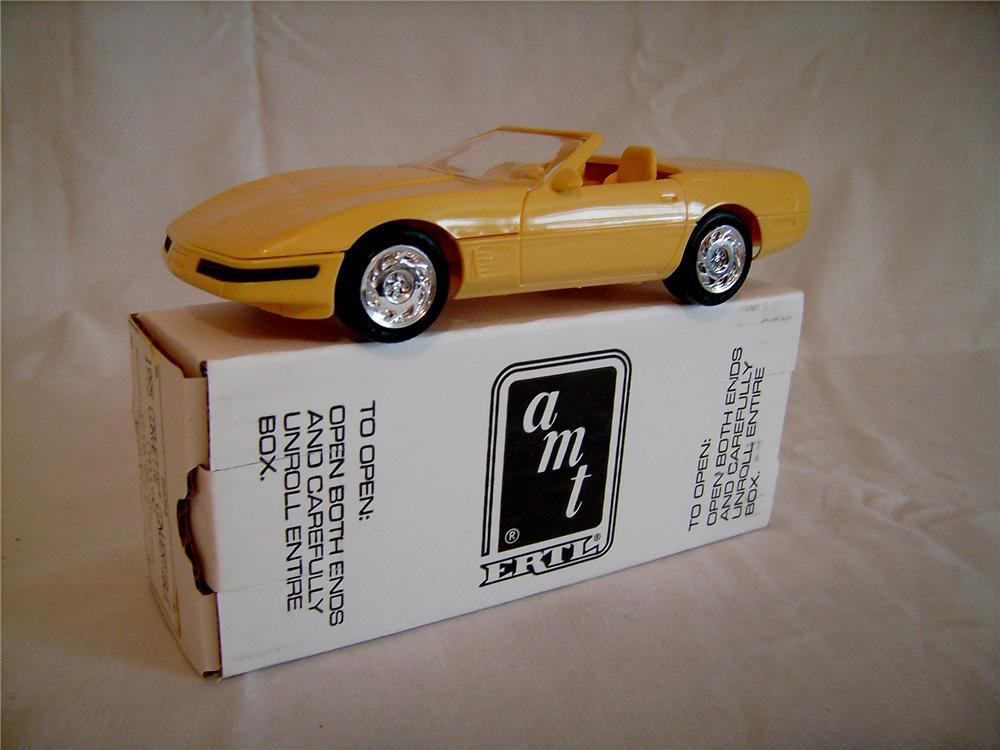 N.O.S. 1995 A.M.T. Corvette dealer promotional model still in the original box. - Front 3/4 - 130873