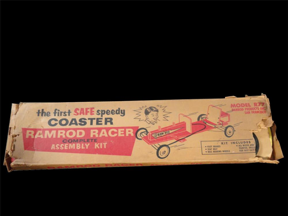 Vintage Ramrod Racer Speedy Coaster still in the original box. - Front 3/4 - 133374