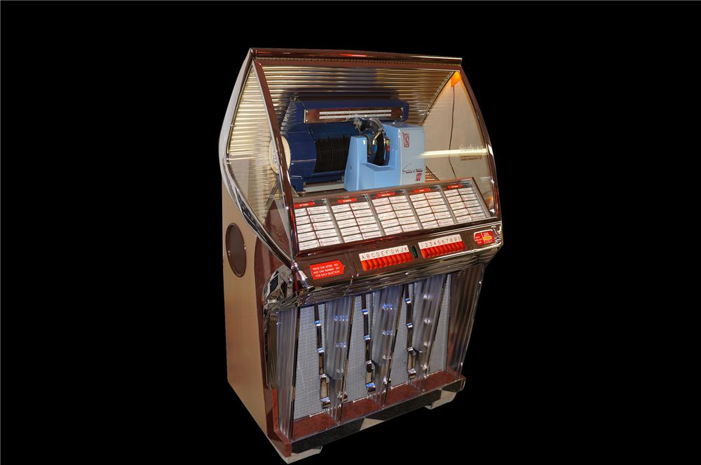Stellar 1954 Seeburg R restored Jukebox.  One of the most desirable jukeboxes of the period - Front 3/4 - 138758