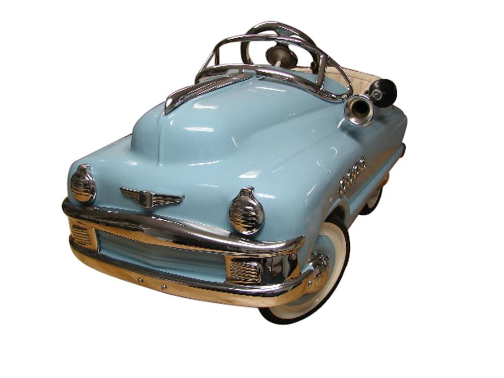 Outstanding 1951 Murray Torpedo Buick Pedal car. - Front 3/4 - 138882