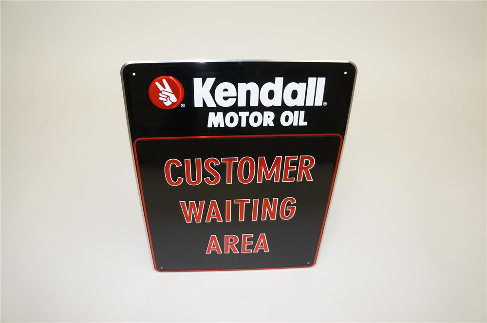N o s kendall motor oil 39 customer waiting area 39 embossed for Kendall motor oil distributors