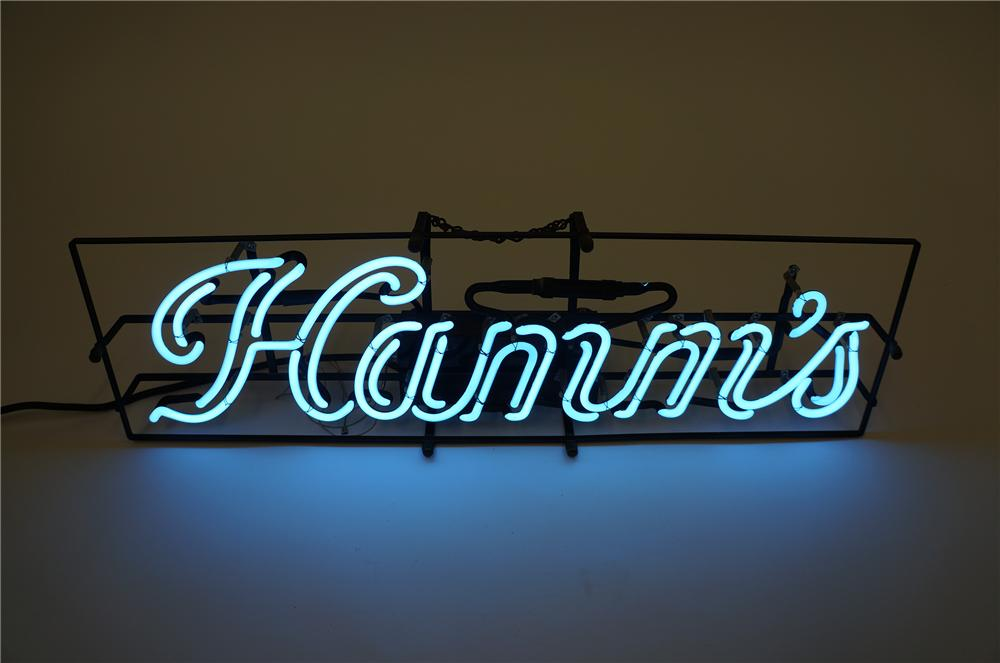 Hard to find 1950s Hamms Beer script version neon tavern sign. - Front 3/4 - 139546