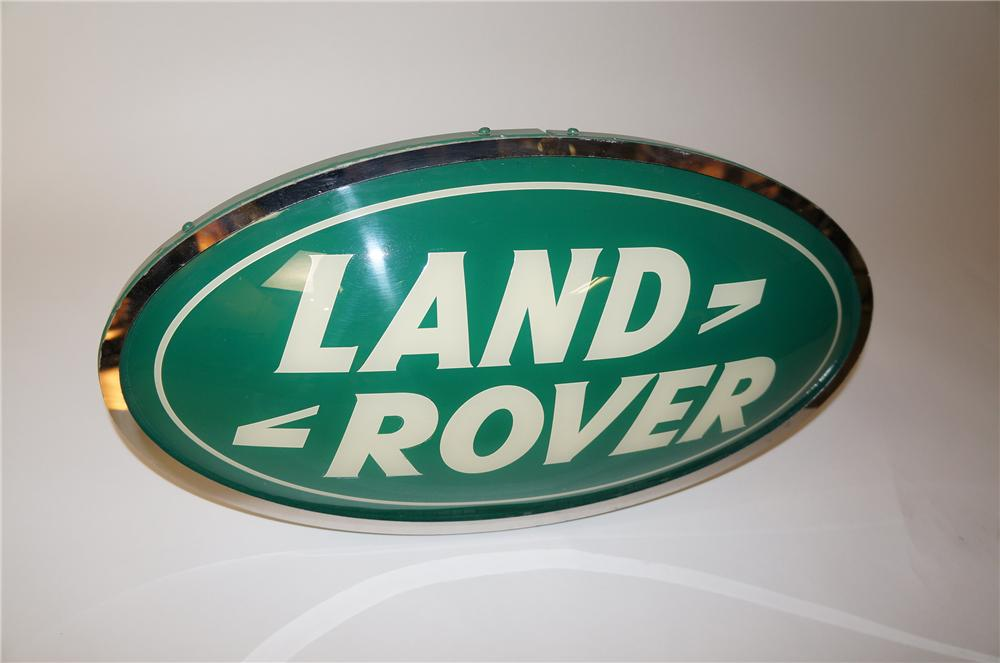 Very sharp Land-Rover dealership showroom sales sign. - Front 3/4 - 139582