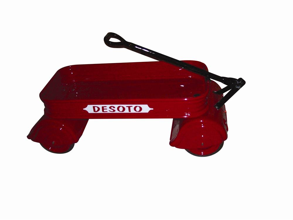 Extremely rare Desoto Toy Wagon professionally restored to perfection. - Front 3/4 - 139812