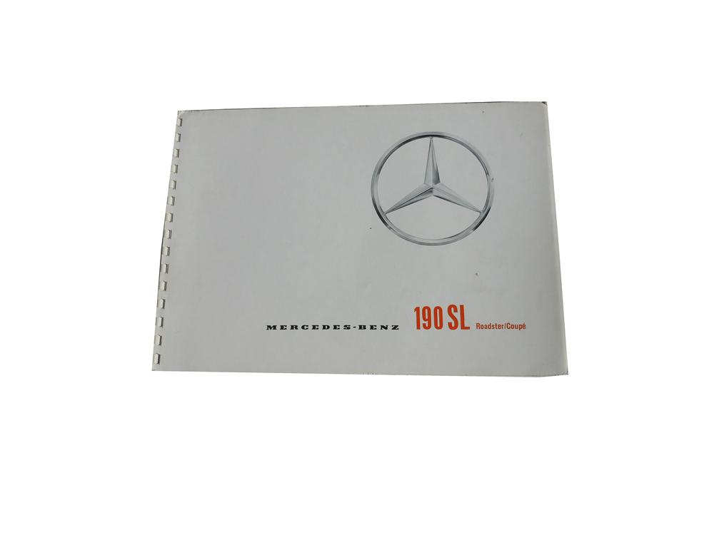 Amazing Mercedes-Benz 190 SL 18 page sales brochure in English. - Front 3/4 - 139858