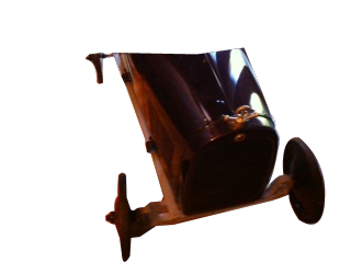 Impressive 1920s-30s Garton pedal car acquired from the Wrigley estate over 30 years ago - Front 3/4 - 139867