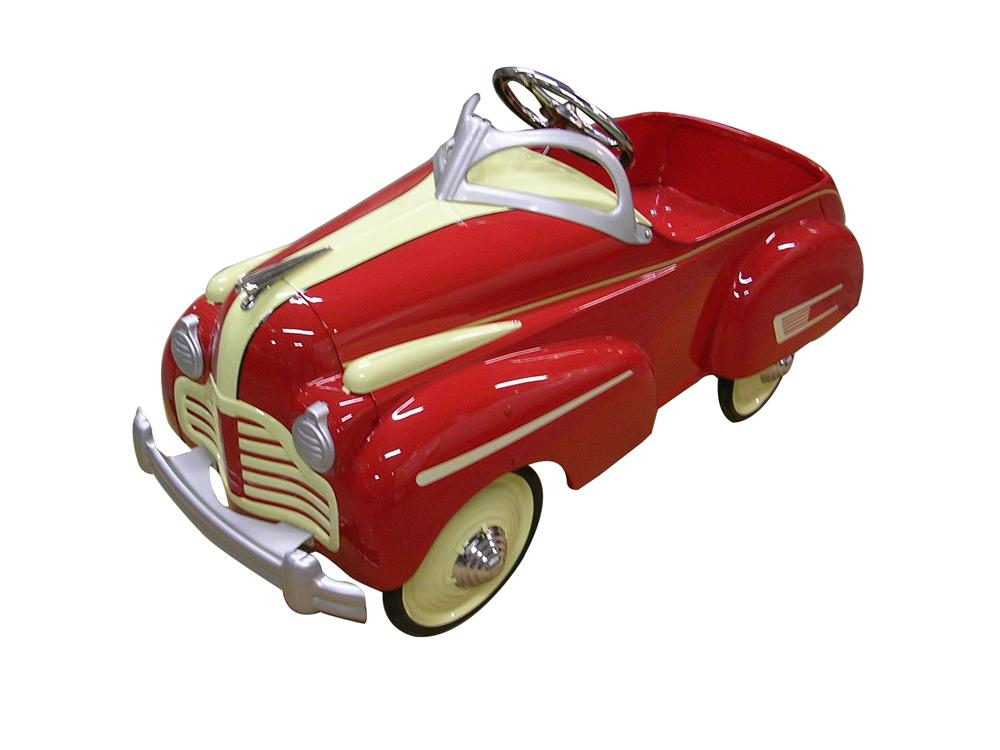 Impeccable 1941 Buick Steelcraft pedal car.  A nice original restored with correct colors and full attention to detail. - Front 3/4 - 151990