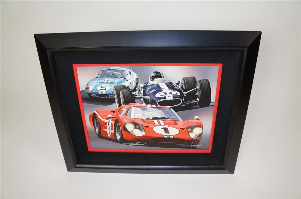 Beautiful Tribute to Ford Racing by Danny Day.  #7 of 200. - Front 3/4 - 158183