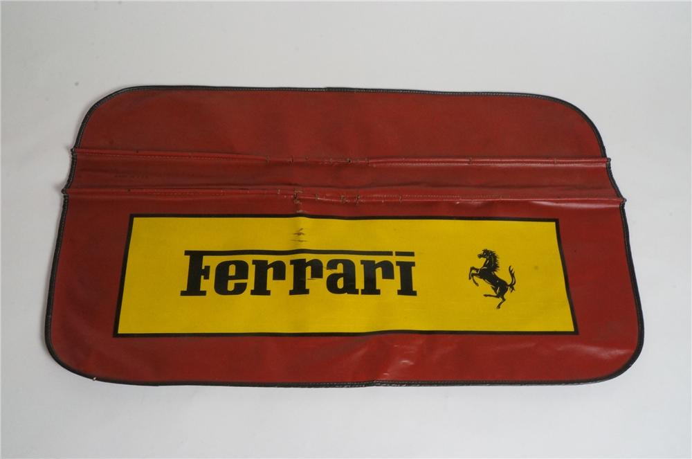 Hard to find late 50's-early 60's Ferrari Automotive Fender Cover displays with light use. - Front 3/4 - 163017