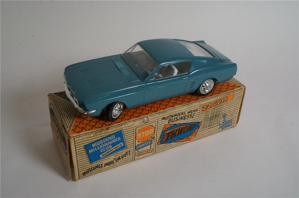 Worthy of bragging rights 1967 Ford Mustang Fastback 2+2 motorized dealer promotional by AMF. - Front 3/4 - 163020