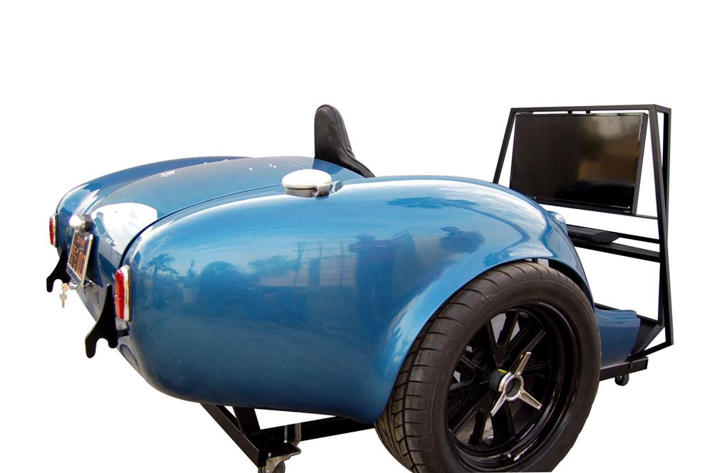 The Ultimate Cobra 427 Experience - Combination TV Entertainment Center, Race Simulator and Work Space. - Front 3/4 - 163193
