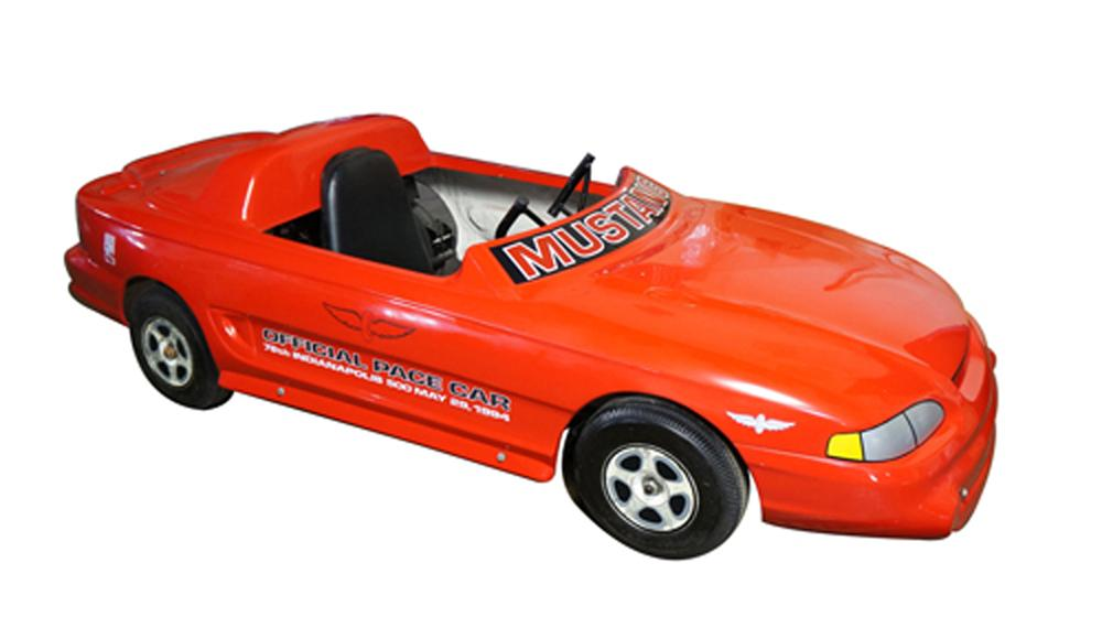 1994 Ford Mustang Indy Pace Car dealer promotional Go-Kart. - Front 3/4 - 170592