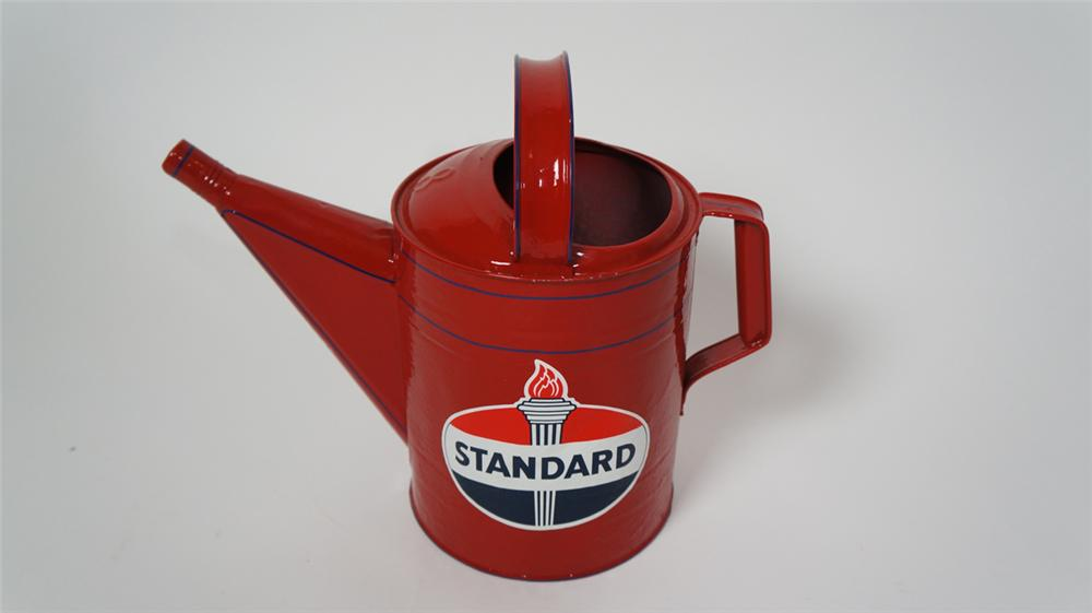 Circa 1930's Standard Oil filling station multi-fluid can restored to day one condition. - Front 3/4 - 170667