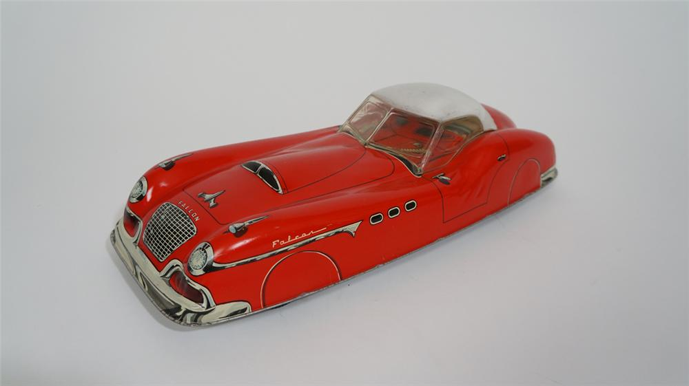 1950's Marx Falcon convertible tin litho friction drive roadster with nice styling. - Front 3/4 - 170738