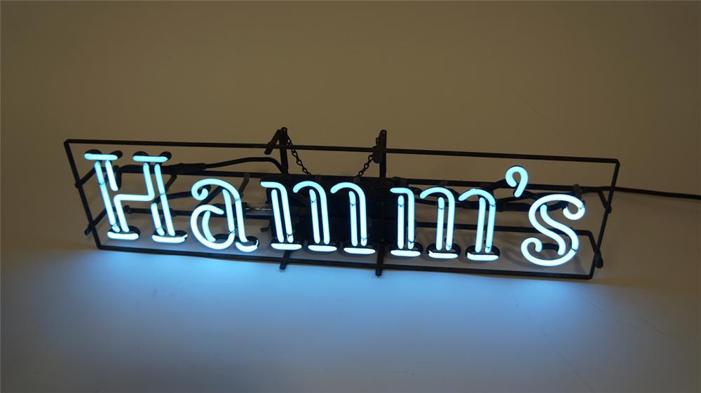 Original 1940's-50's Hamm's Beer tavern neon sign. Extremely hard to find and lights brilliantly! - Front 3/4 - 170739