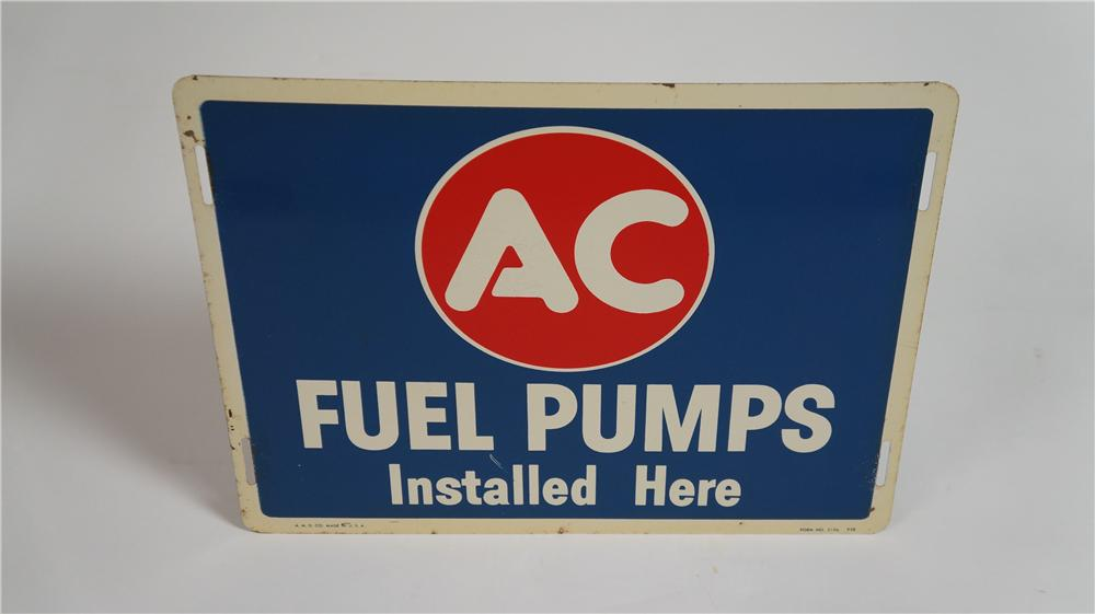 "N.O.S. 1958 AC Fuel Pumps ""Installed Here"" - Front 3/4 - 174764"