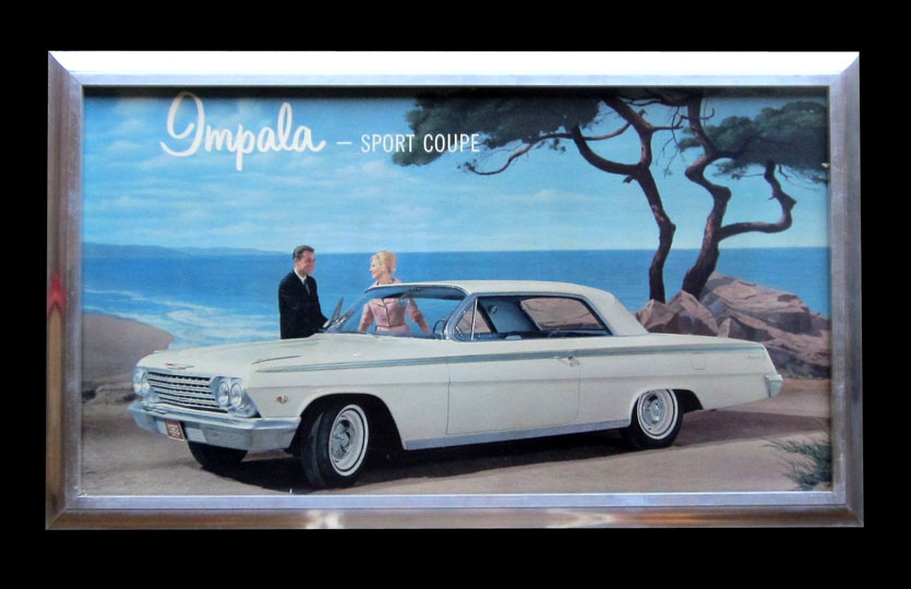 Ford Dealership Scottsdale >> 1962 Impala Sport Coupe Chevrolet dealership showroom full