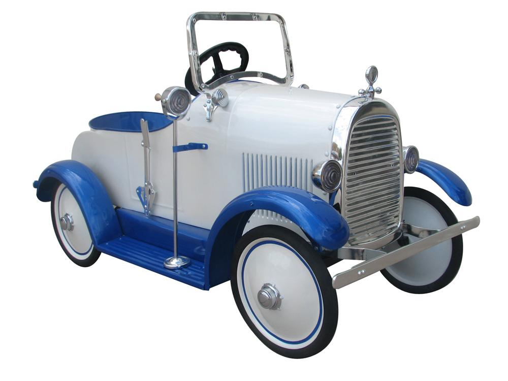 Magnificent 1928 Buick Steelcraft restored pedal car. - Front 3/4 - 177495