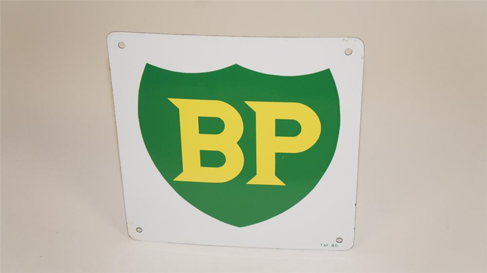 Vintage BP (British Petroleum) single-sided porcelain pump ...