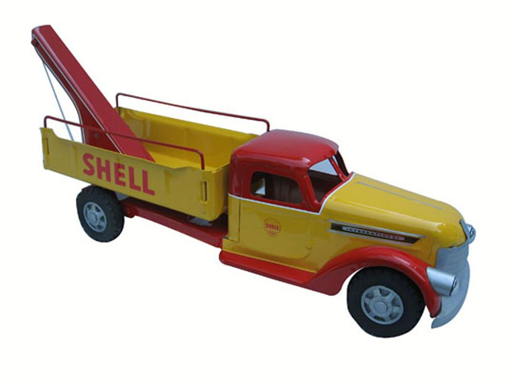 1950's Buddy L International toy truck - Front 3/4 - 177913