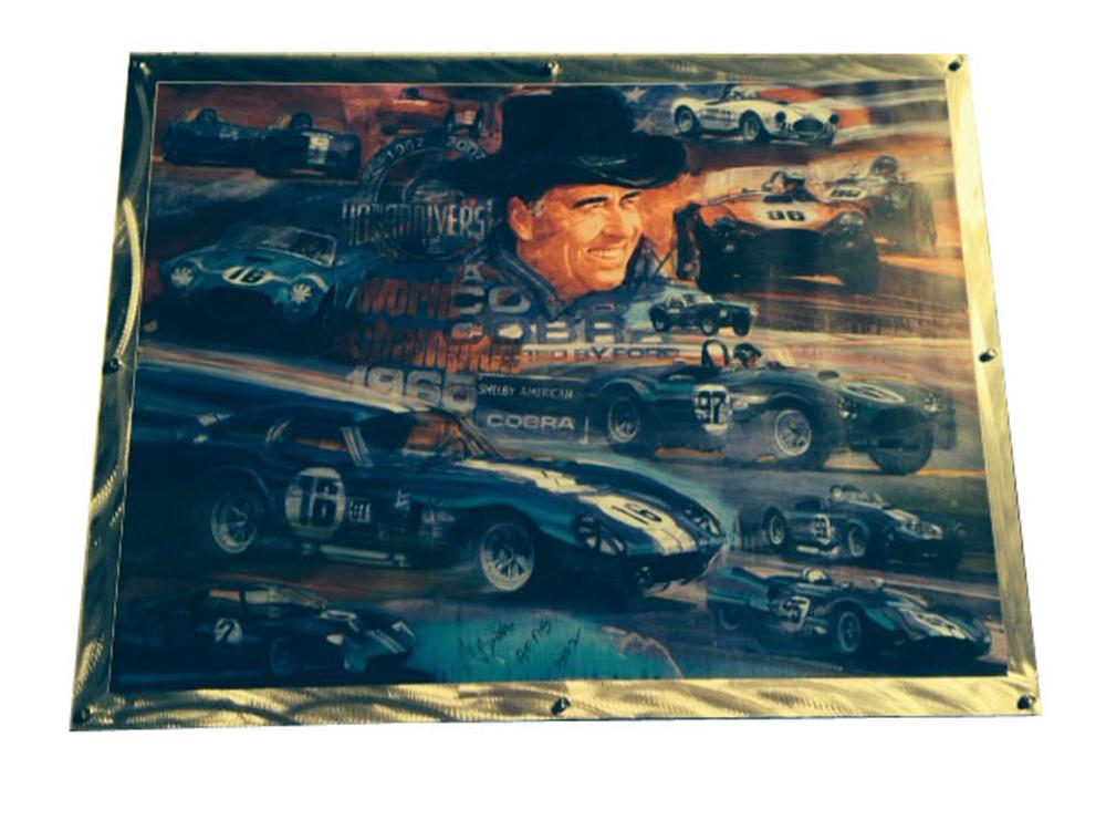 World Champion tribute to Carroll Shelby by George Bartell dated 2002. - Front 3/4 - 177994