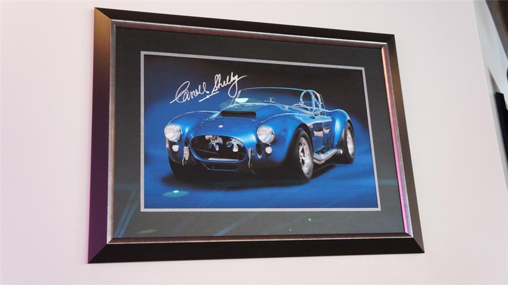 Very nice Shelby Cobra Super Snake photo autographed by Mr. Carroll Shelby. - Front 3/4 - 178984