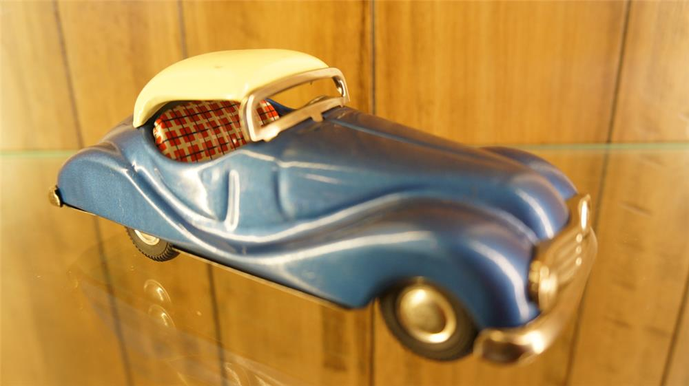 1950's Jaguar Japanese tin litho toy. - Front 3/4 - 179063