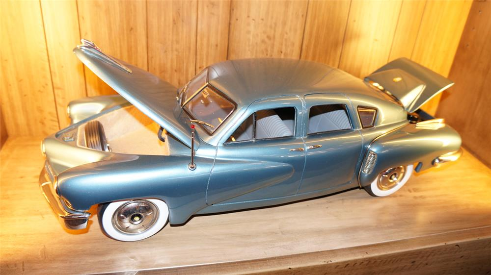 Wonderful 1948 Tucker 1/8 scale hand built steel model. - Front 3/4 - 179121
