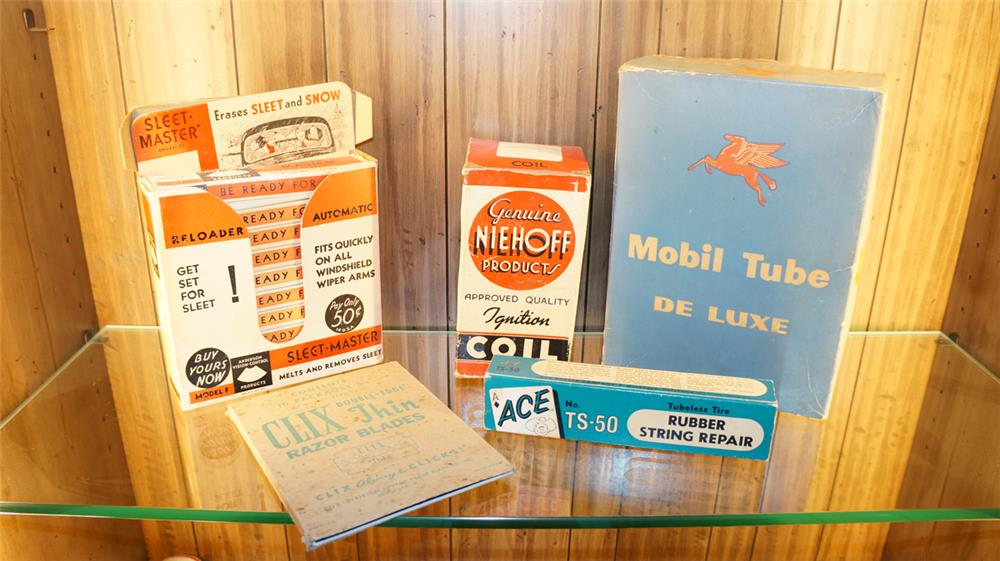Lot consisting of five 1930's-50's automotive garage products - Front 3/4 - 180040