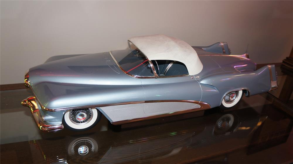 Incredible 1951 Buick LeSabre Convertible Concept Car hand built to 1/8 scale model. - Front 3/4 - 180225